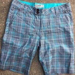 Pants - Empyre Plaid Shorts